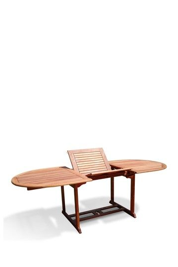 Attirant Foldable Butterfly Oval Extension Table By Natural Living Outdoor Furniture  On @HauteLook