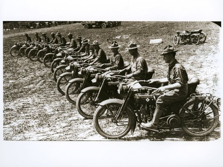 Harley Davidson Motorcycles from a World War One ... | WW1/The Great