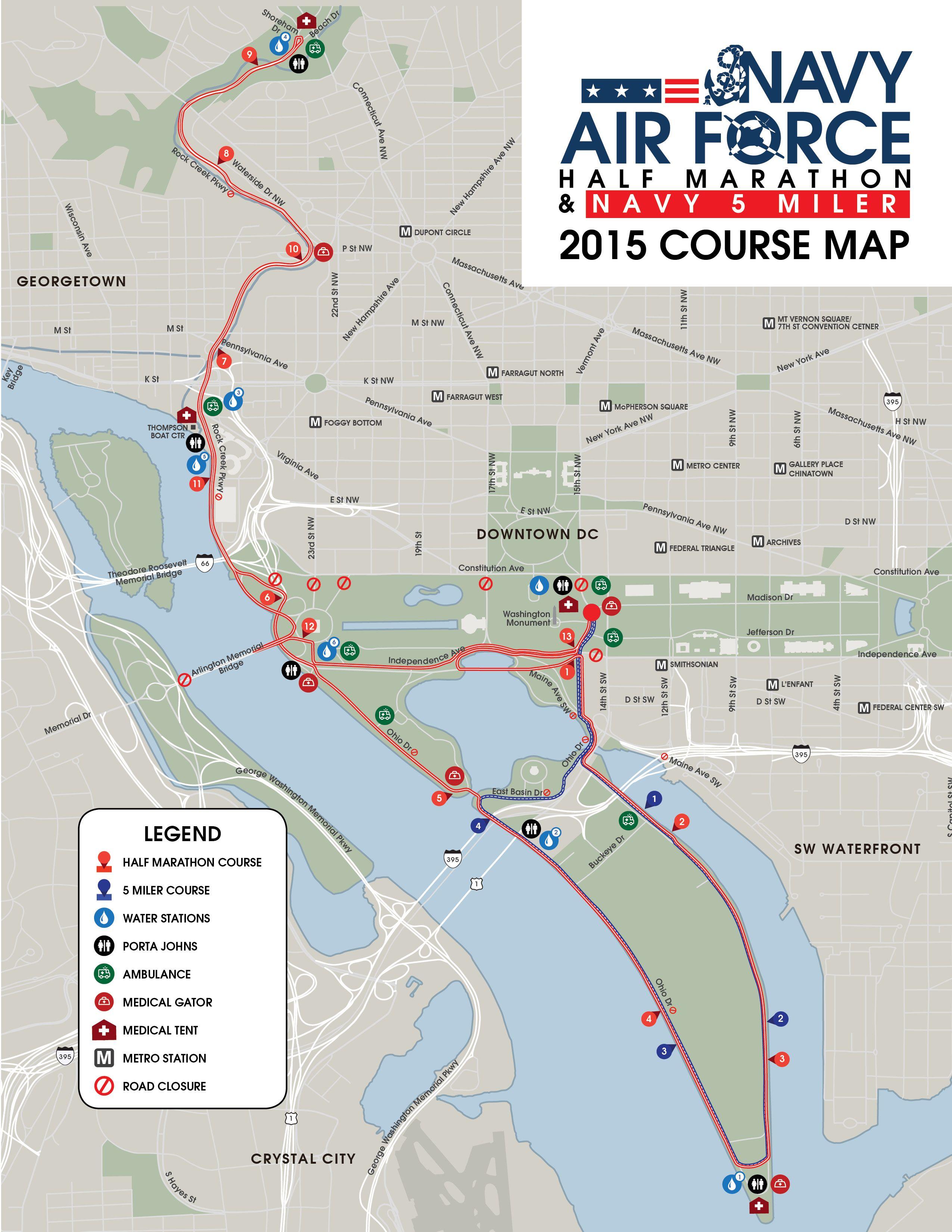NavyAir Force Half Marathon & 5 Miler 2015 I would