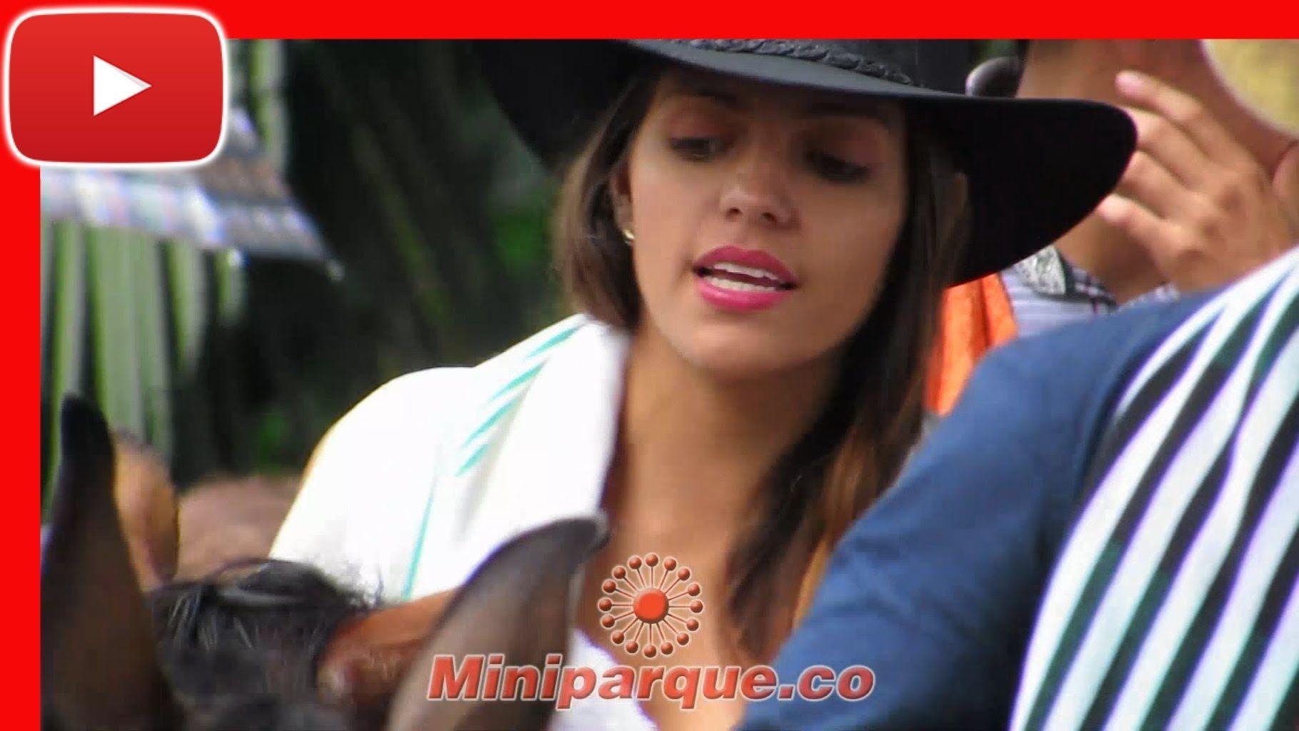 las mas bellas chicas del eje cafetero cabalgata feria de tulua # 61 horse colombia 2016 video HD 79