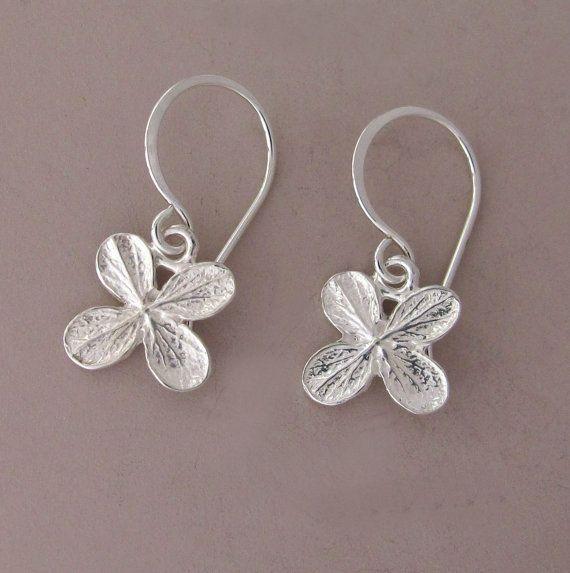 Orecchini in argento Sterling fiore piccoli di esdesigns su Etsy