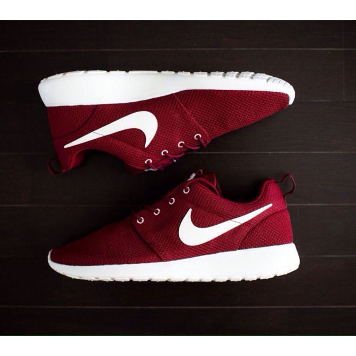 There are 77 tips to buy these shoes: nike red sneakers nike sneakers  burgundy nike roshe run roshe runs burgundy socks maroon nike roshe runs  womens bag ...