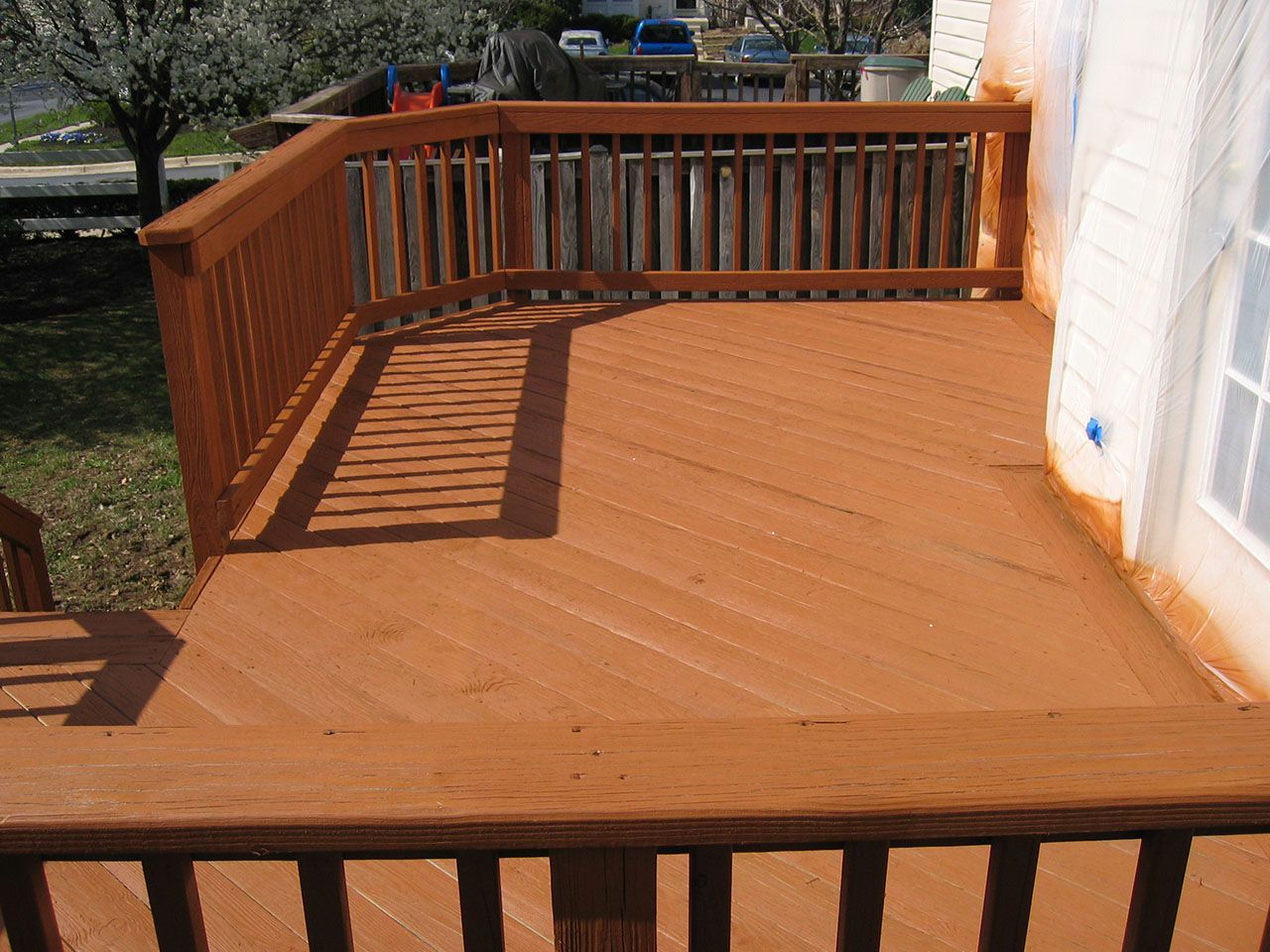 Exciting Behr Deckover Colors With Wood Deck Railing And Cozy Wood Flooring Deck Stains