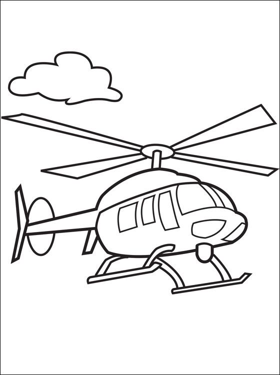 Malvorlagen Hubschrauber Ausmalbilder   Ausmalbilder und ...