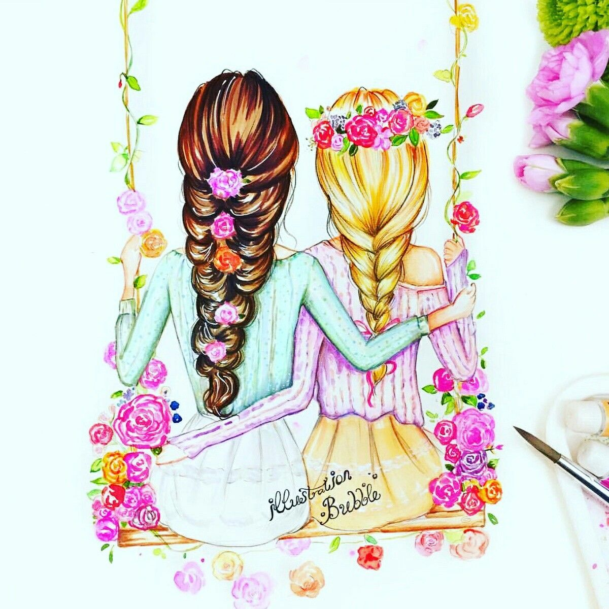 Do you know what it means to come to your heart size exactly? | Drawings of friends, Best friend ...
