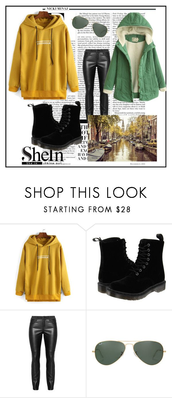 """""""Untitled #88"""" by sselma ❤ liked on Polyvore featuring Nicki Minaj, Dr. Martens, Ray-Ban, women's clothing, women's fashion, women, female, woman, misses and juniors"""