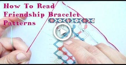 How To Read Friendship Bracelet Patterns  Tutorial #easyfriendshipbraceletpatterns