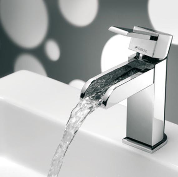 Waterfall Faucets Modern Waterfall Faucet Design Bathroom