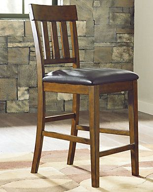 Ralene Counter Height Bar Stool Rollover Dining Chair