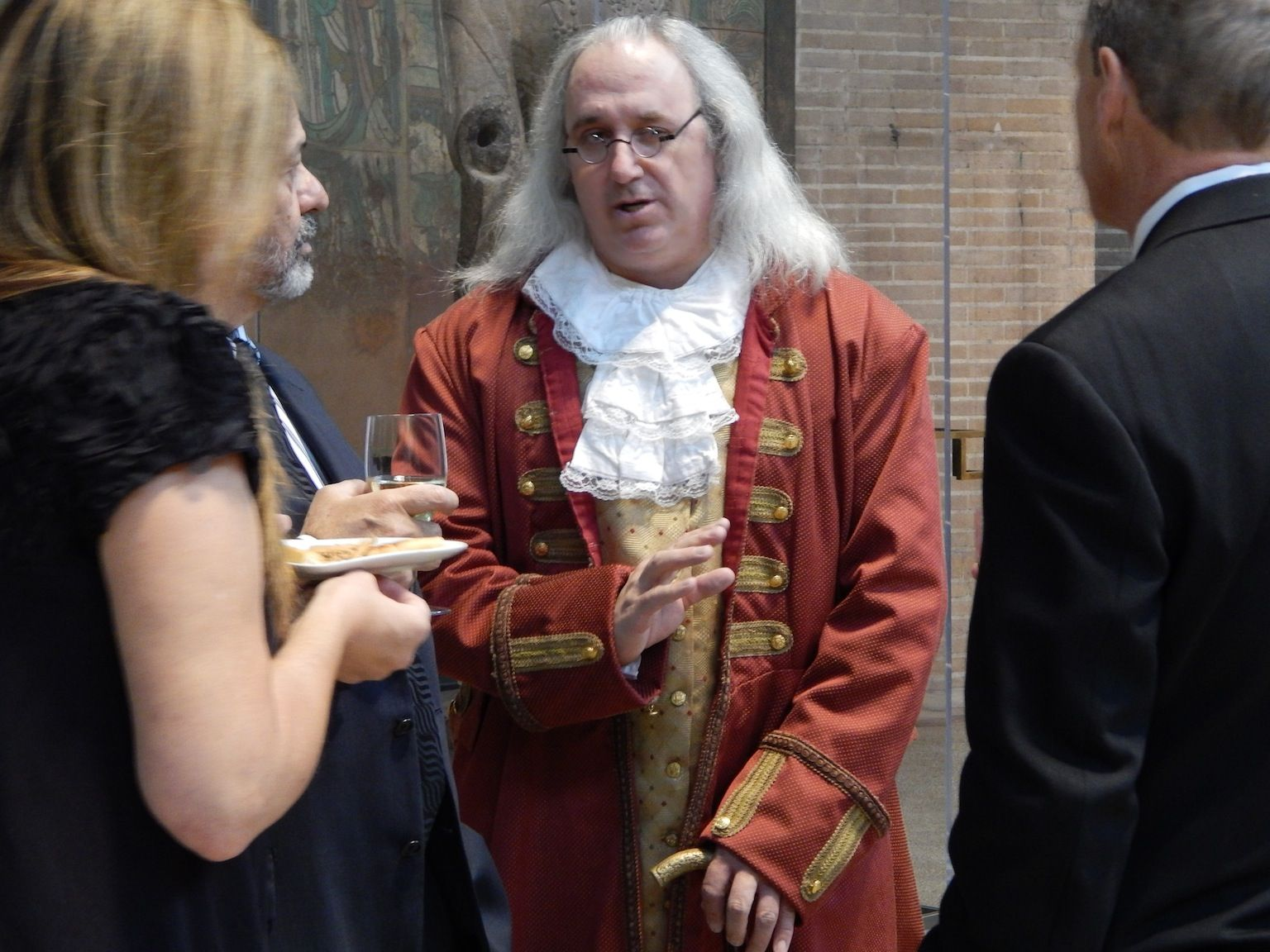 Springtime is a Big, Busy Time for The Young and Witty Ben Franklin