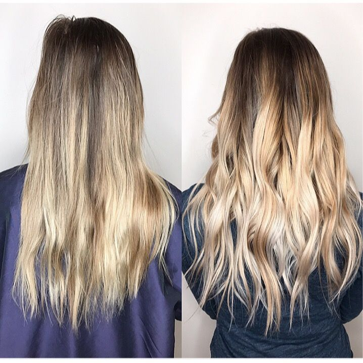 Bespoke Balayage By Jennytape In Hair Extensions Wexford Balayage