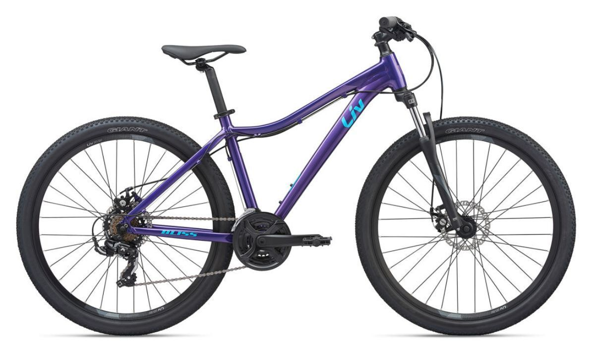 Liv Bliss 3 2020 Purple With A Light Alloy Frame Disc Brakes
