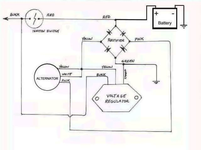 Honda Cb Simplified Wiring Motorcycle Wiring Diagram Honda