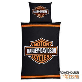 Harley Davidson Microfaser Bettwäsche Bar Shield Logo Roadhouse