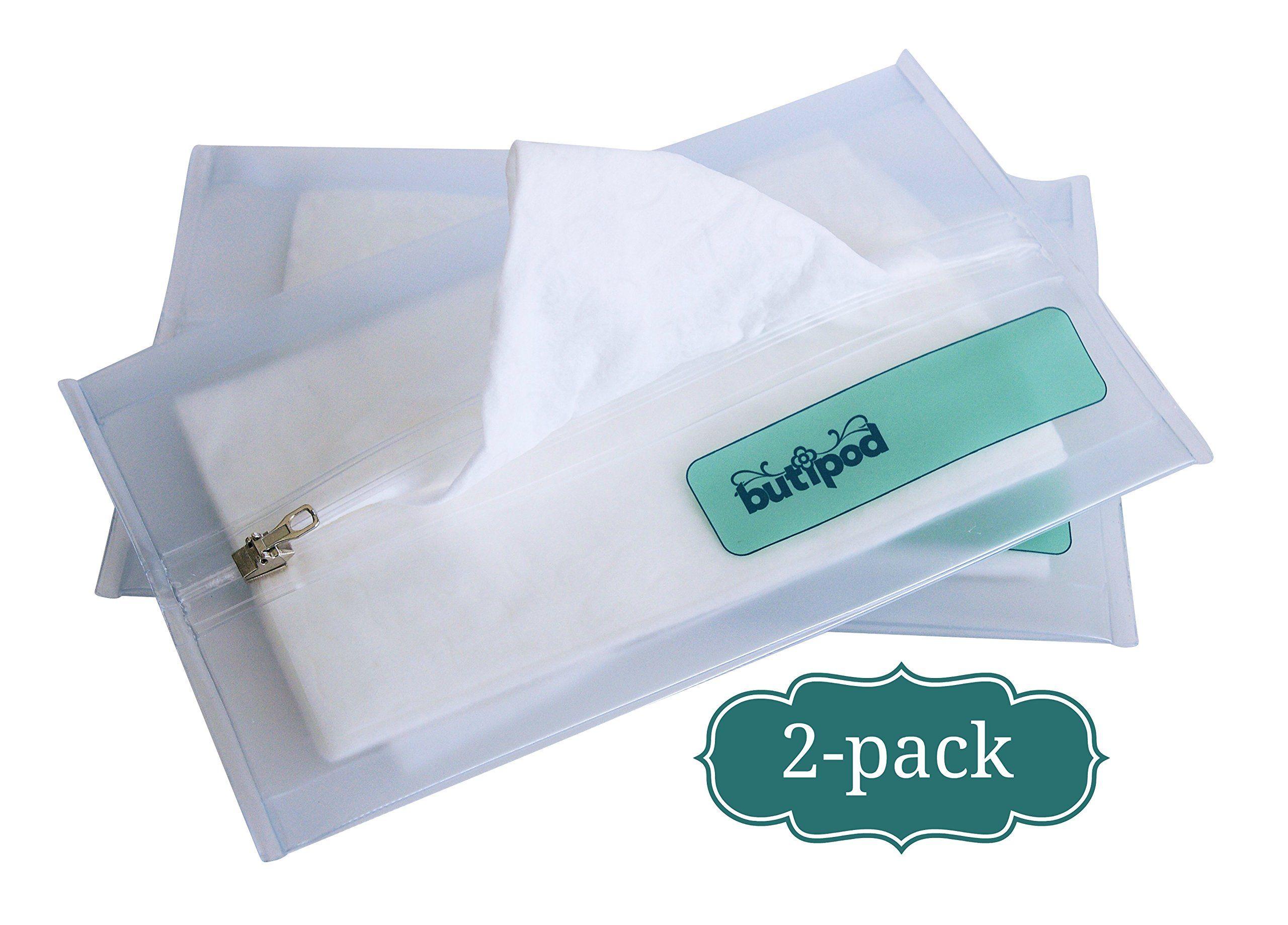 Butipods V4.0 Slim Wipes Travel Cases Keeps Wet Wipes Wet