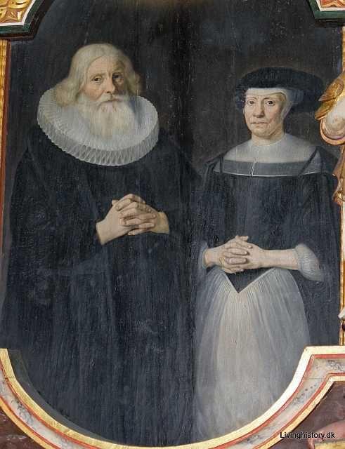 Kapellan Svend Albertsen, d. 1680, og hustru Johanne Christensdatter. 1670-79 Århus stift