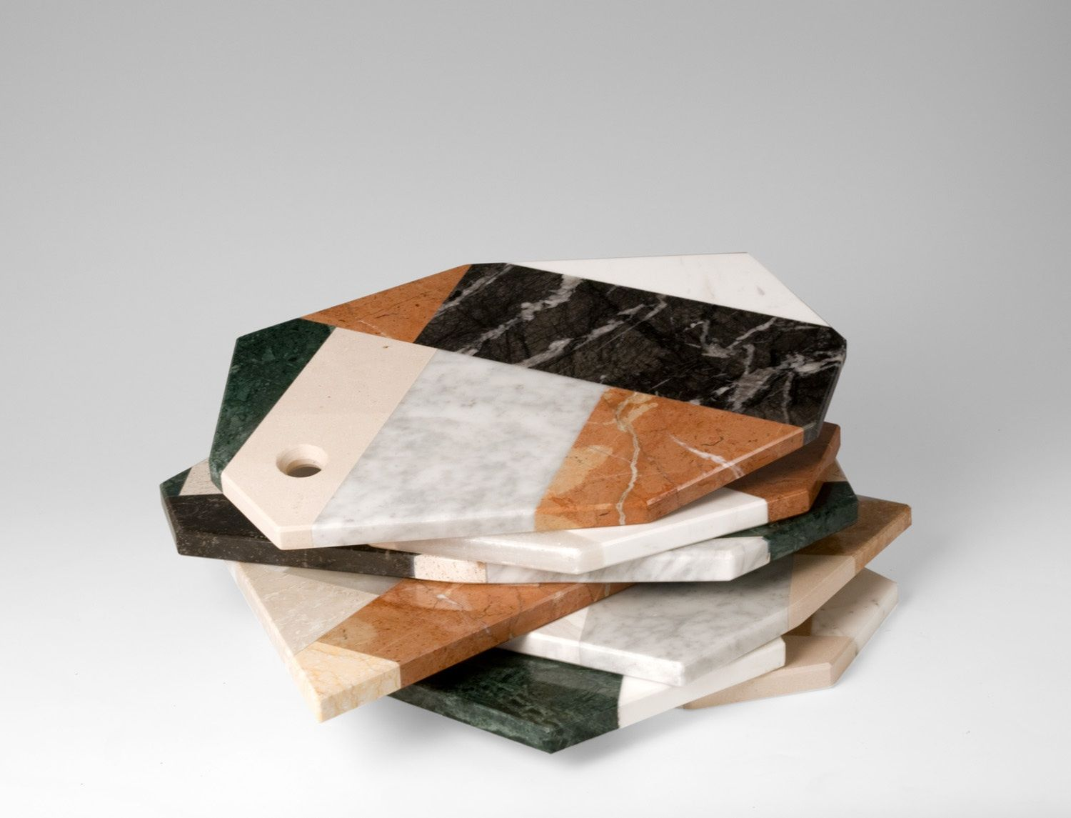 Italian Scrap Marble Serving Tray By Lucia Massari For Mandruzzato  # Muebles Battistin