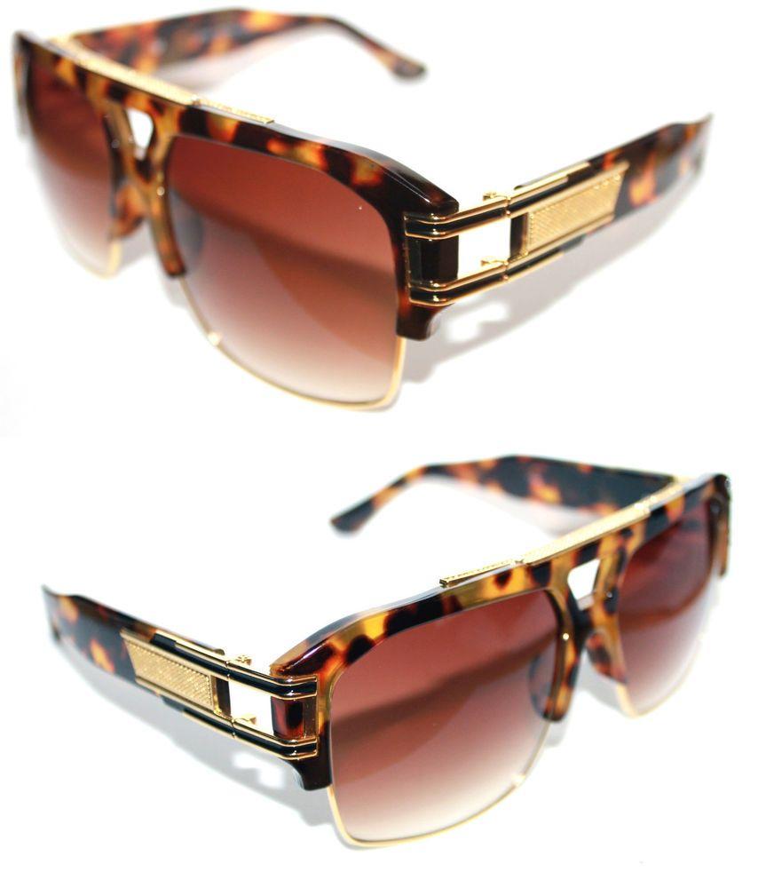 ab183014d8 Men s Women s Dita Cazal Style Grandmaster Four (Nerd) Large Size 1980 s Hip  Hop Design Sunglasses Retro DRX 2060. Size  Eye Size 70mm Bridge 18mm  Temple ...