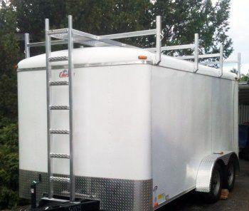 aluminum trailer roof rack aluminum