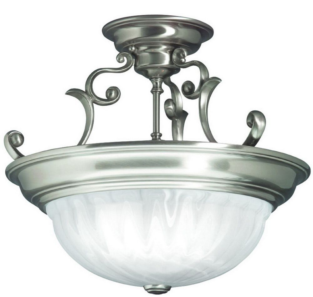 Dolan Designs 525 Richland 3 Light Semi Flush Mount is made by the brand Dolan Designs and is a member of the Richland collection. It has a part number of 525.