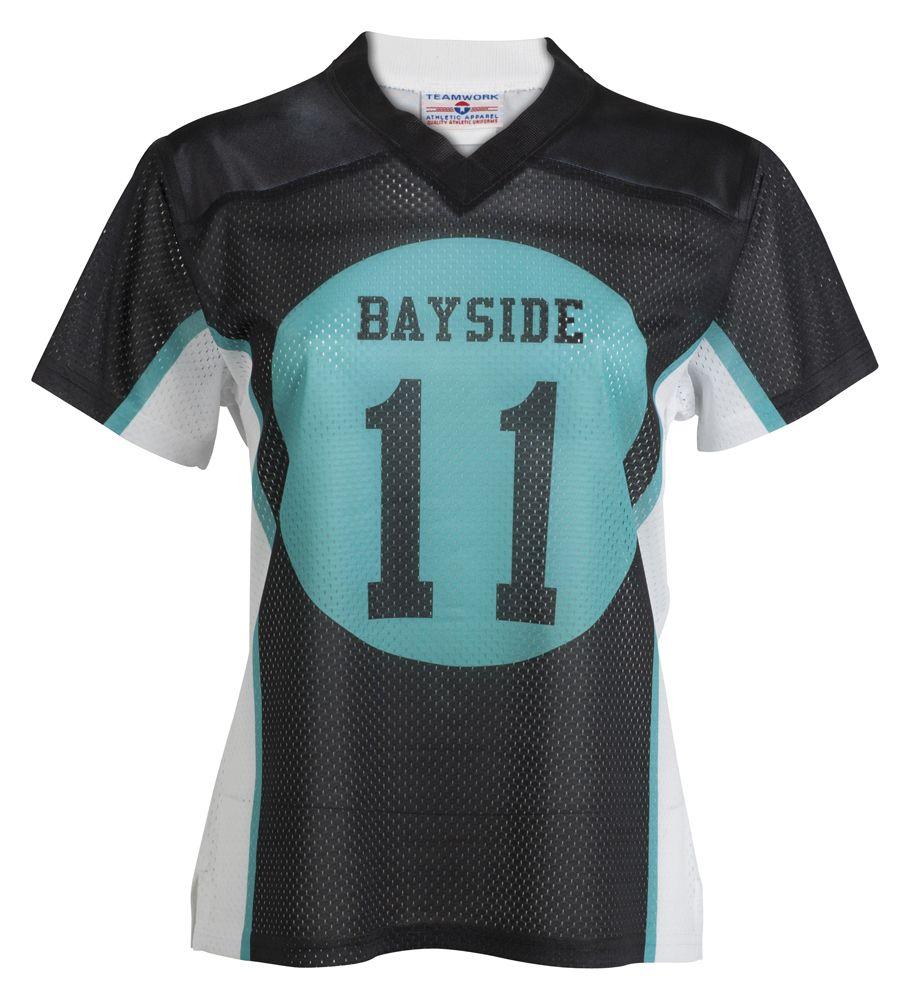 0a7a70ead Custom high school classic girls football jersey