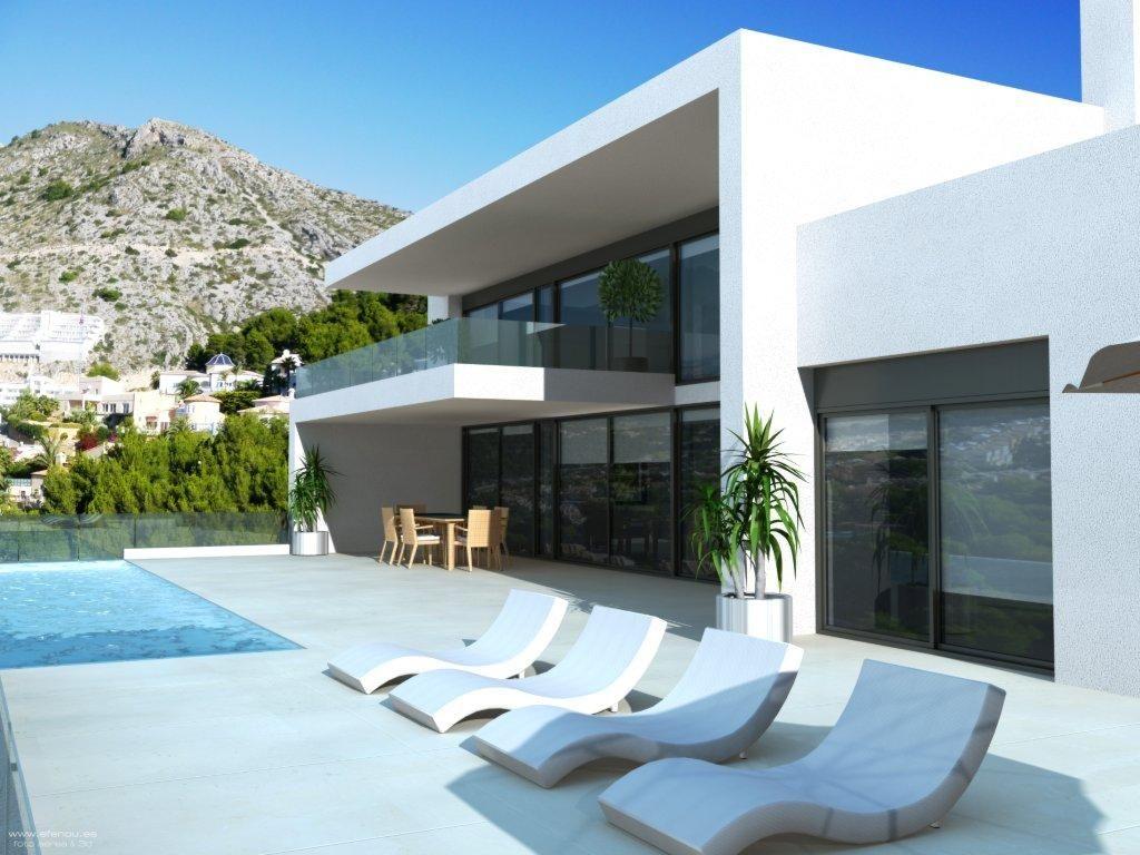 #1B5EB023649688  Blanca Architecture Pinterest Villas Villa Design And Magazines Van de bovenste plank Architect Villa 783 beeld 1024768783 Inspiratie
