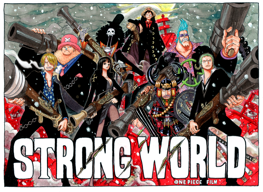 Color Spreads One piece new world, One piece movies, One
