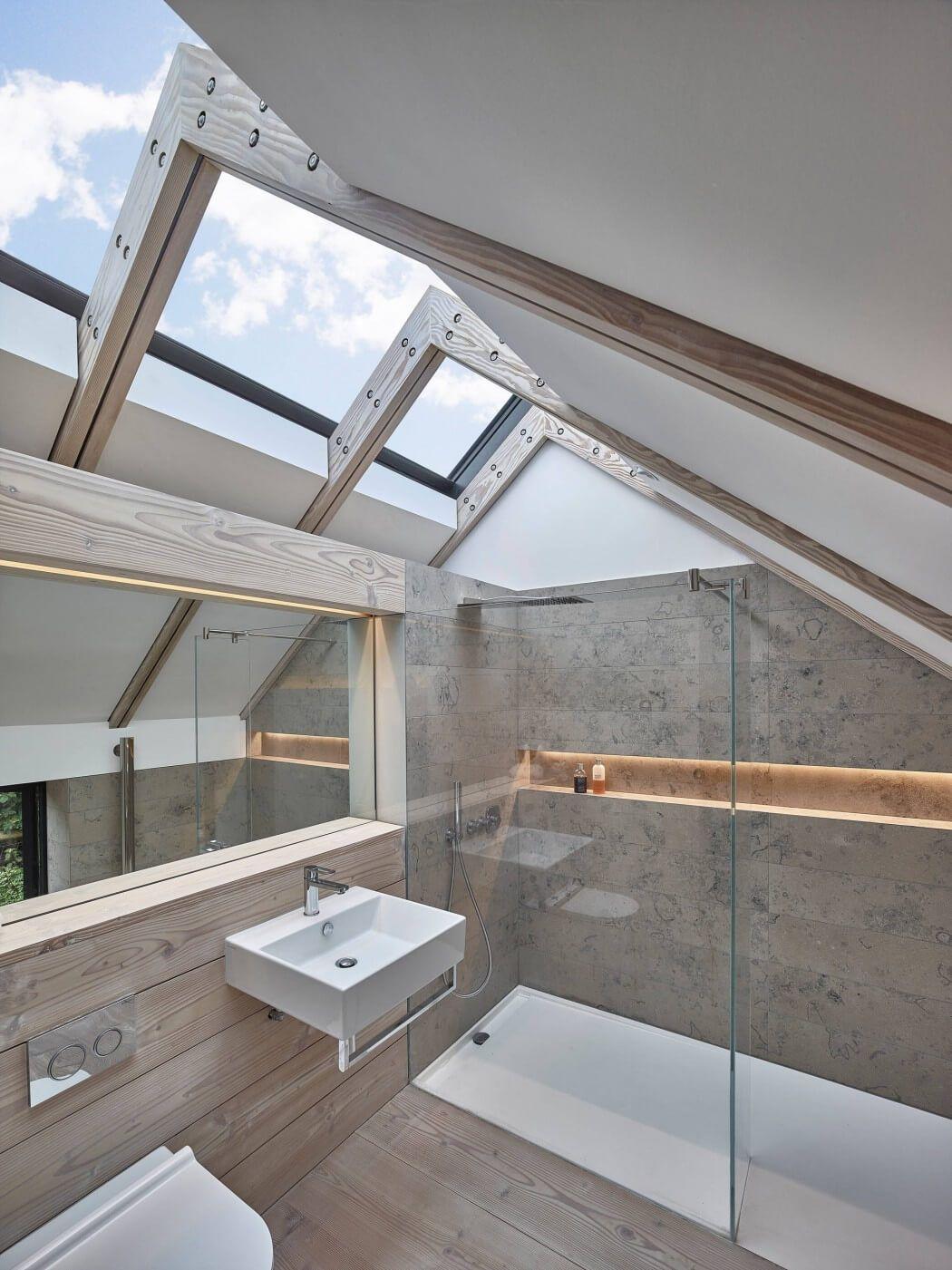 Hocker Farm By Donald Architecture Badezimmer Licht Badezimmer Dachgeschoss Design Fur Zuhause