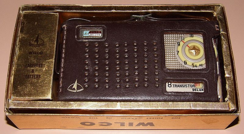 Vintage Wilco 8-Transistor Radio, Model ST-88, Made In Japan, Circa 1963.