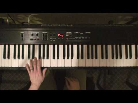 Learn To Play The Piano By Ear Left Hand Technique Tutorial Slow