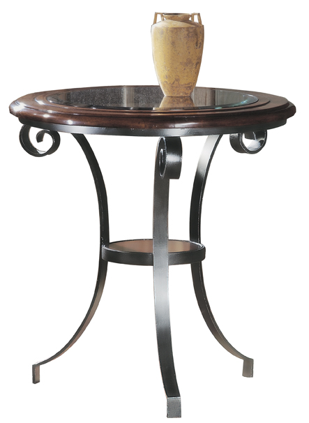 Metal Lamp Table | Hekman | Home Gallery Stores