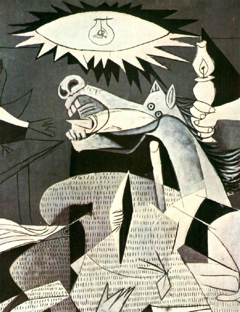 1930s Guernica Horse Picasso Guernica Dora Maar Pablo Picasso