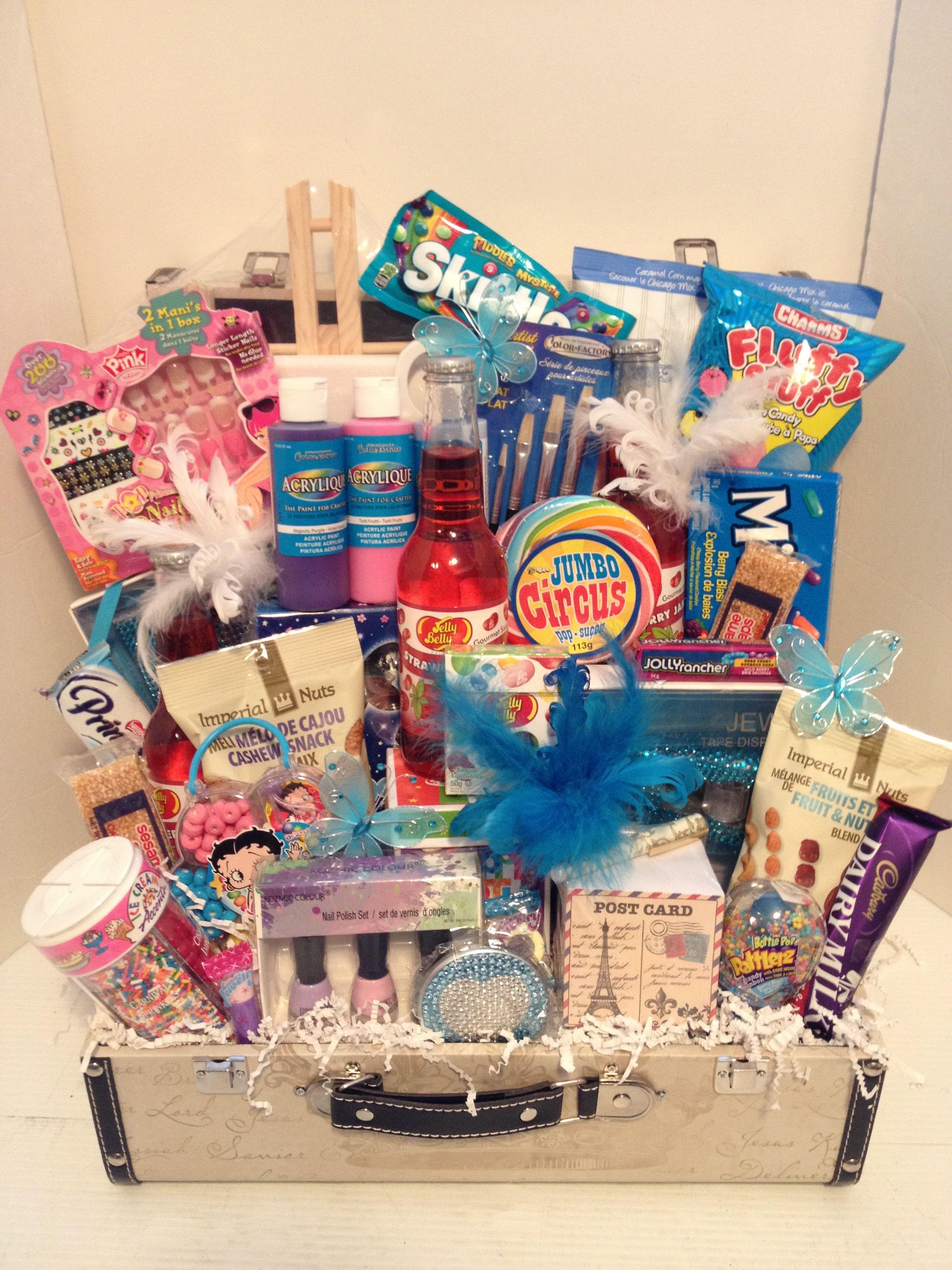 Parish Theme Birthday Girl Gift Basket