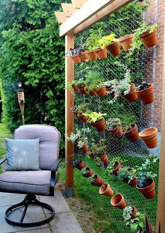 Diese 13 Ideen mit Blumentöpfen im Garten sind echt verrückt - holzdeko im garten