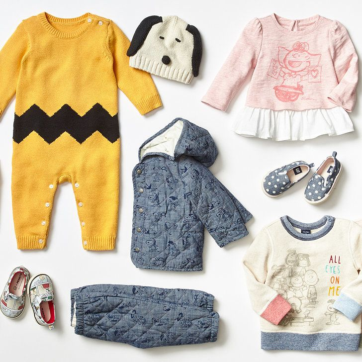 Gap's New Collection of Peanuts Clothes Will Help Introduce Your ...