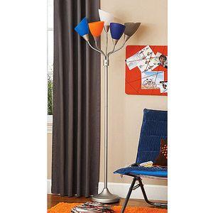 19 97 Wm Your Zone 5 Arm Floor Lamp Blue Multi Floor