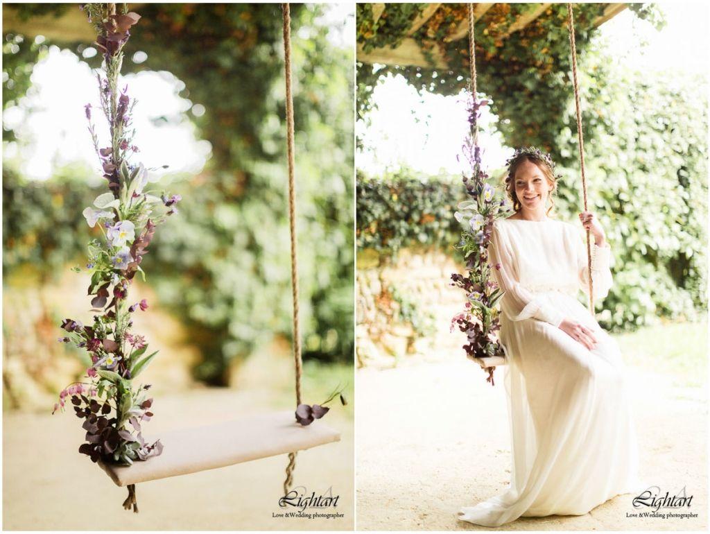 Déco de mariage, champêtre chic | photographe Ludovic Authier Photographe