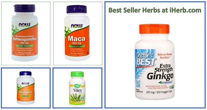 Learn about iHerb Herbal Best Sellers - Doctor's Best, Extra