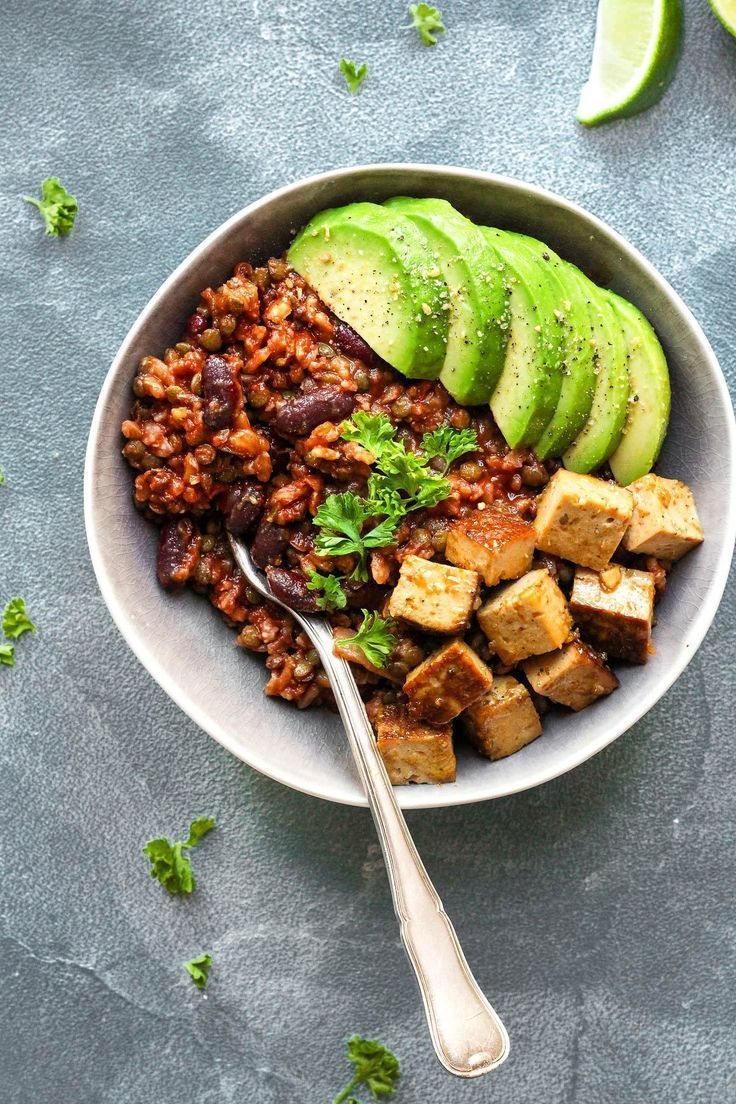 Enchilada power bowls with spicy tofu recipe tofu bowls and dinners forumfinder Choice Image
