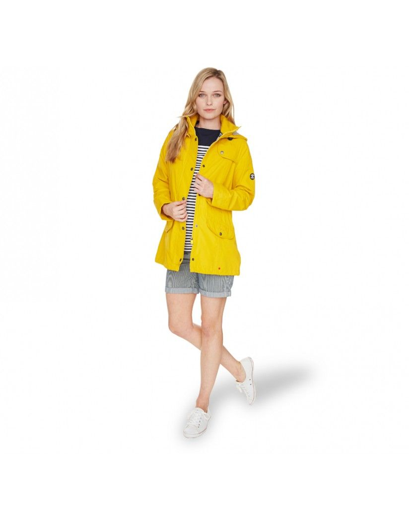 Yellow womens barbour jacket