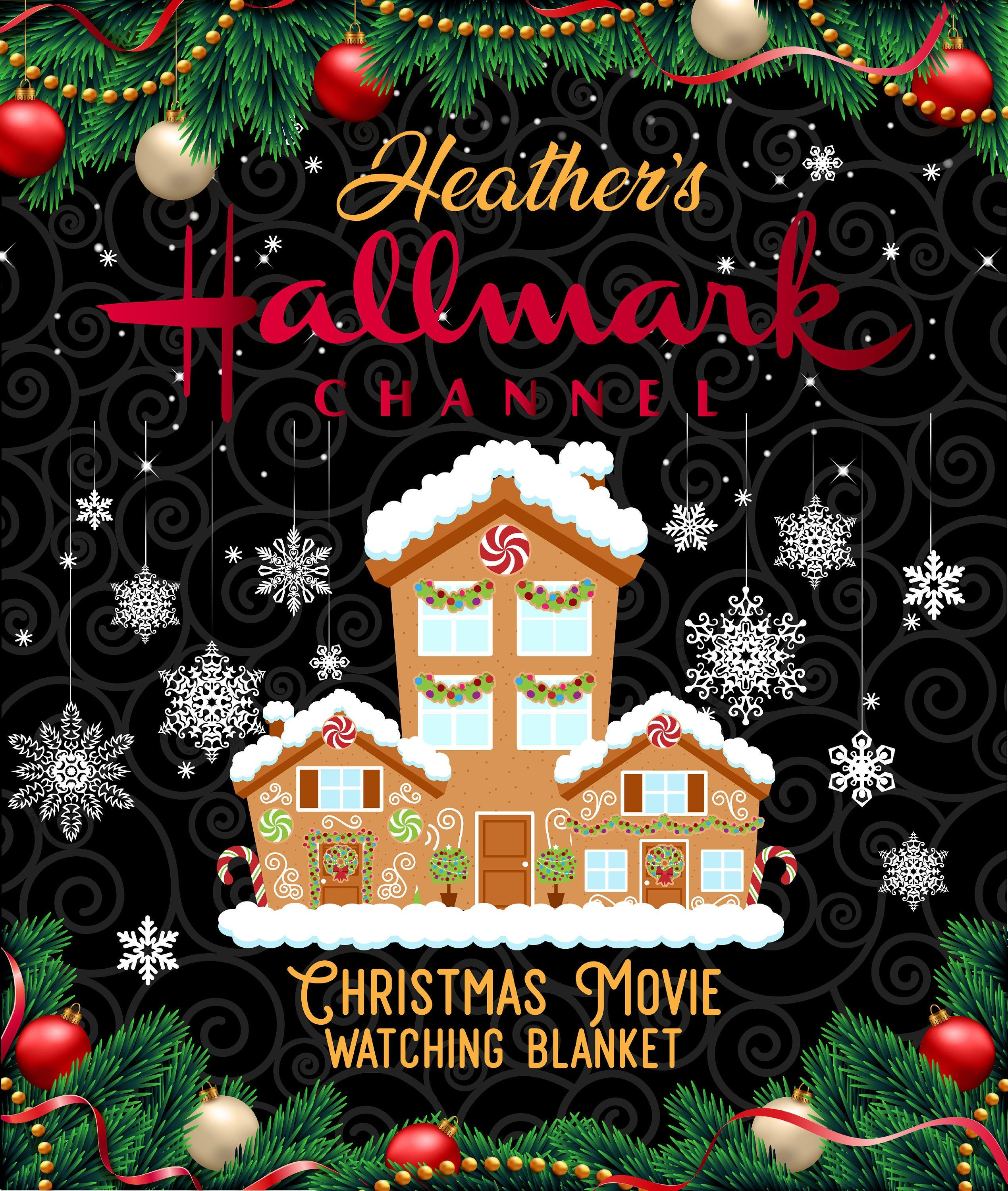 Personalized Hallmark Christmas Movie Blanket Hallmark