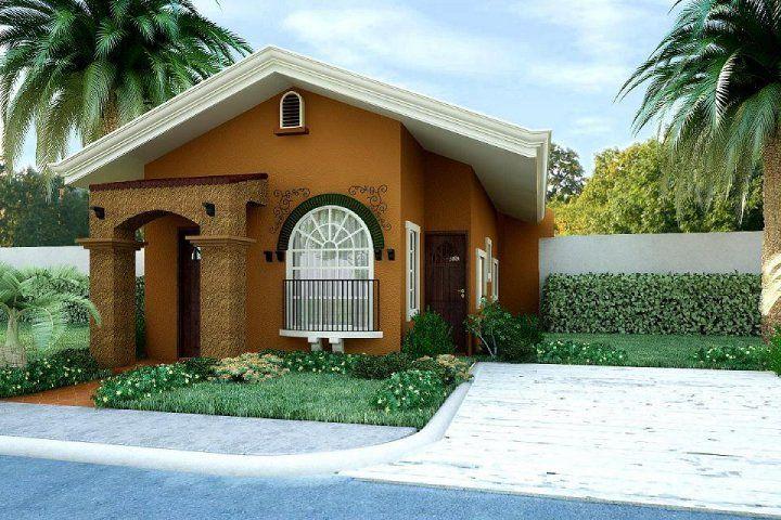 Casa Bonita 3d Una Planta Jpg 720 480 Pixeles Disenos De Casas Imagenes De Casas Lujosas Fachada De Casa