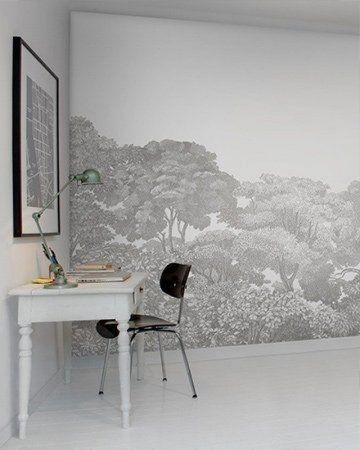 Make over woonkamer Fotobehang in hoek #fotobehang #wooninspiratie ...
