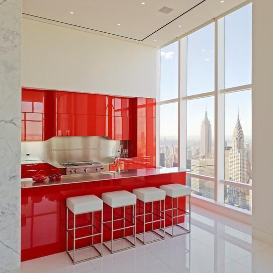 Rote Küchen #schmidtküchen #sofortlieferbar #arbeitsplatte ...