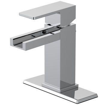 WaterRidge® Axiom Waterfall Bathroom Faucet | upstairs bathroom ...