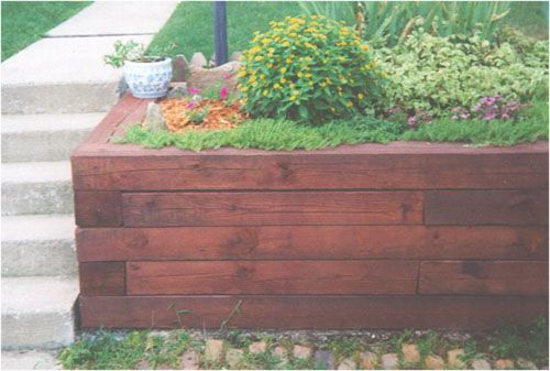wood landscape walls wall project pick a project versa lok allegheny blend retaining wall - Timber Retaining Wall Design