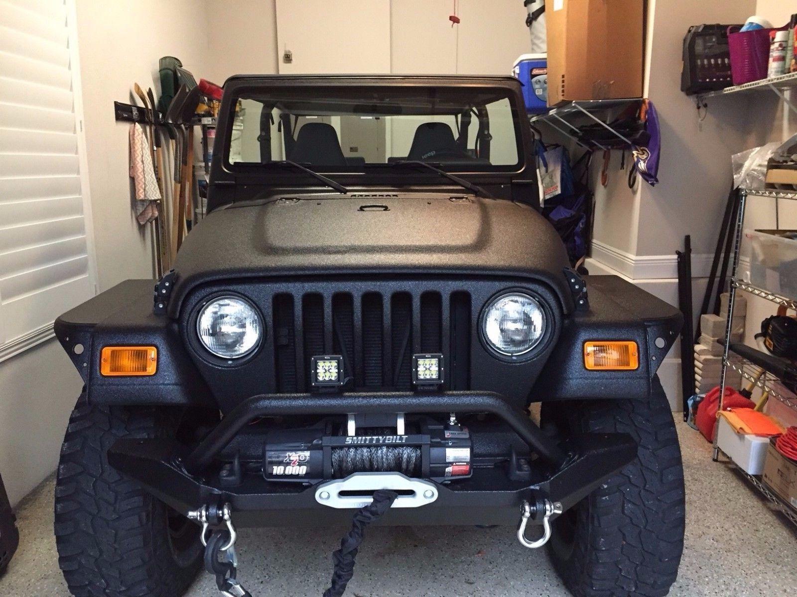 Ebay 1998 Jeep Wrangler 2 Door Jeep Wrangler Tj Jeep Jeeplife Accesorios Para Jeep Y Accesorios