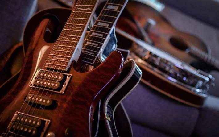 Guitarra Electrica Wallpaper 4k
