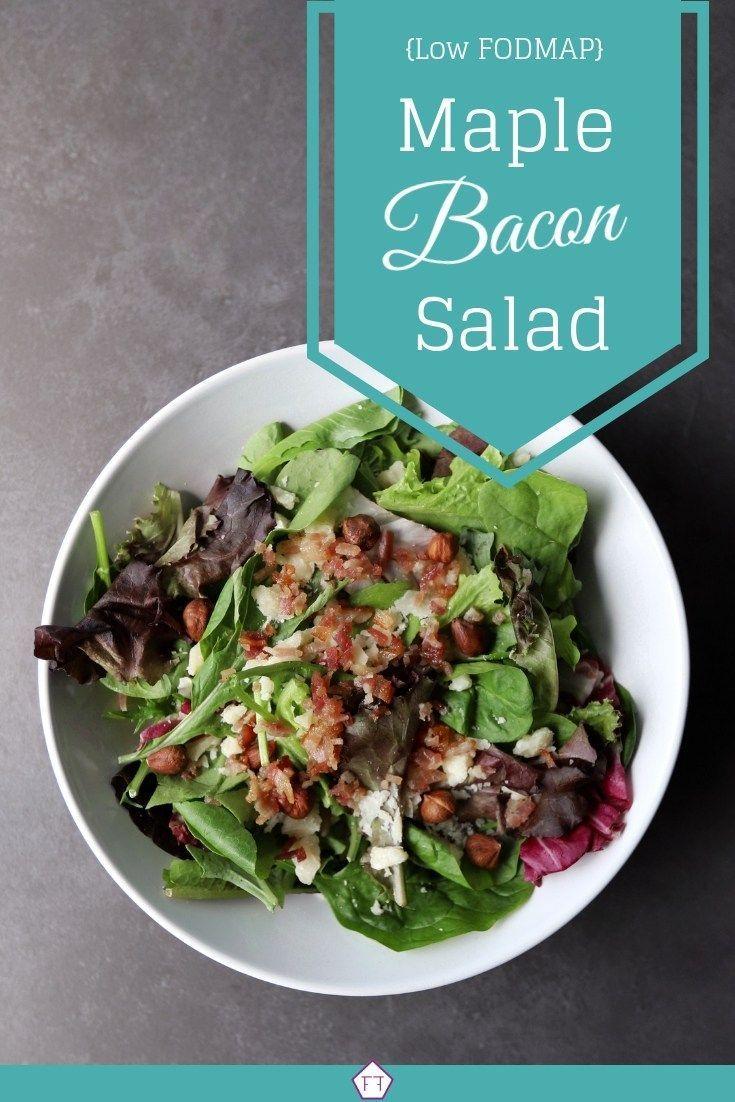 Photo of Low FODMAP Ahorn Speck Salat | Die FODMAP für
