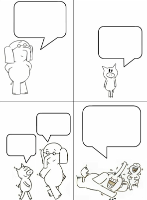 ItS An Elephant And Piggie By Mo Willems Fest Comic Strip For